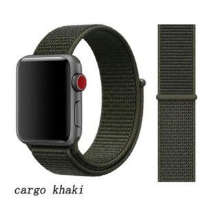 ❤️NEW Cargo Khaki Sport Loop Strap For Apple Watch